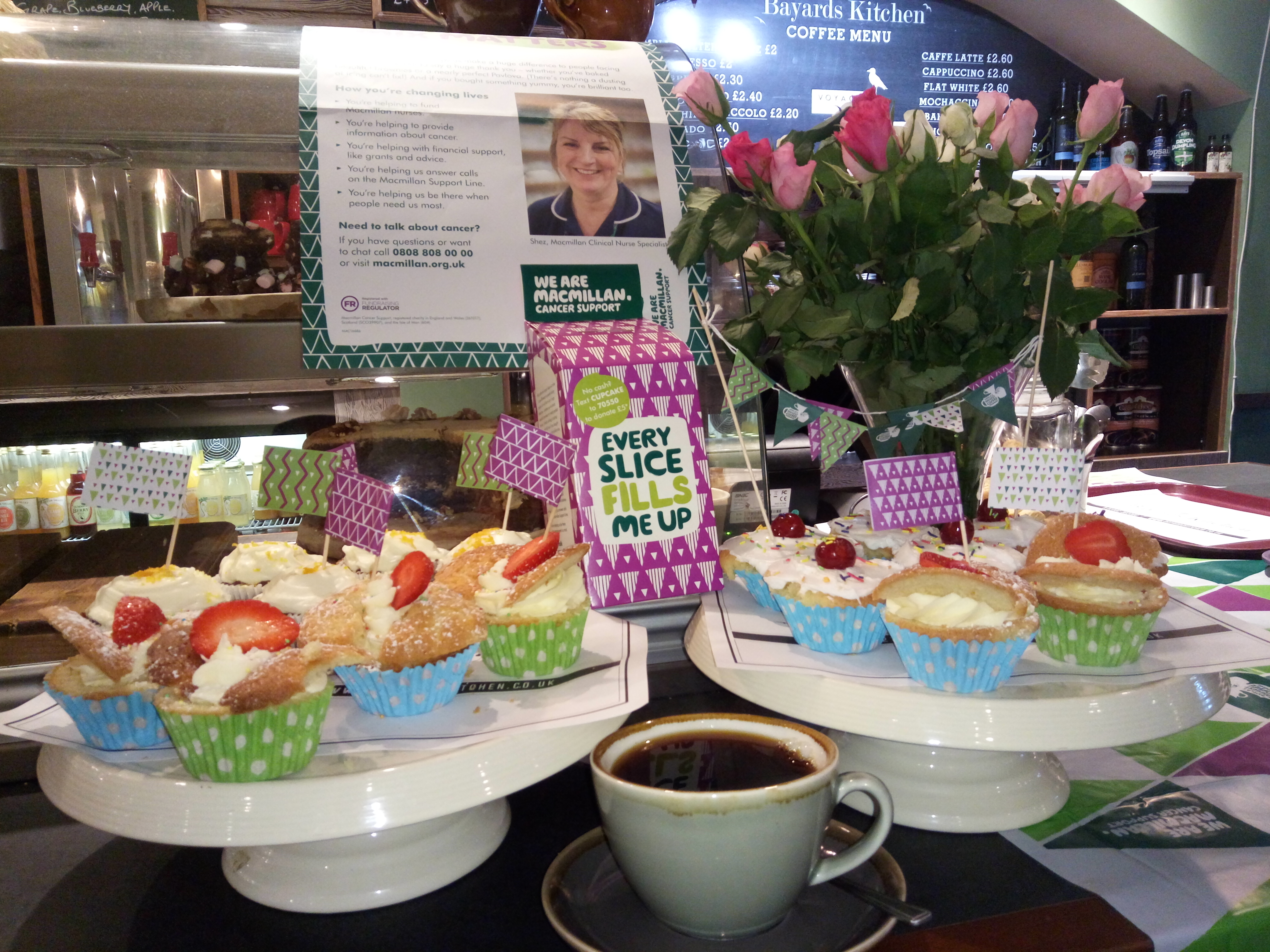 Bayards Kitchen: Coffee break and cup cakes