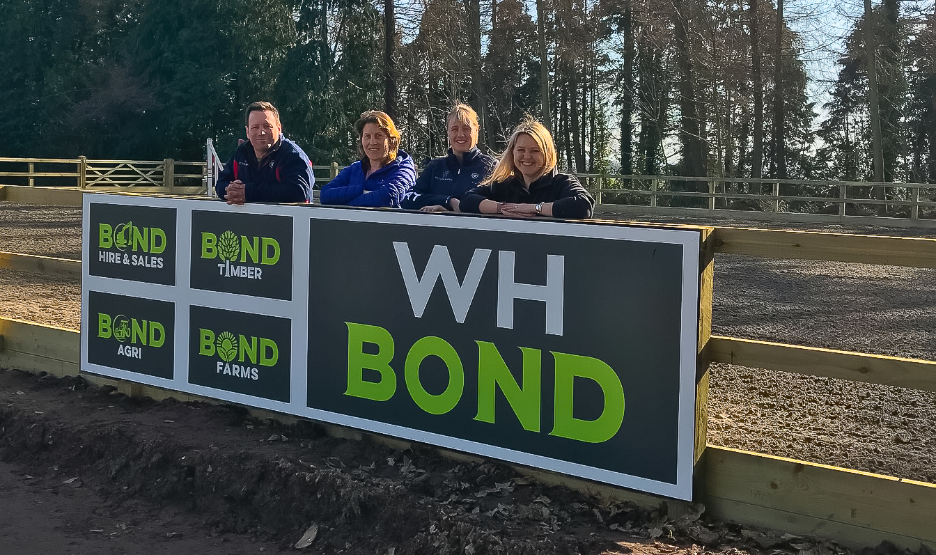 WH Bond signs lucrative new deal with Bicton Arena
