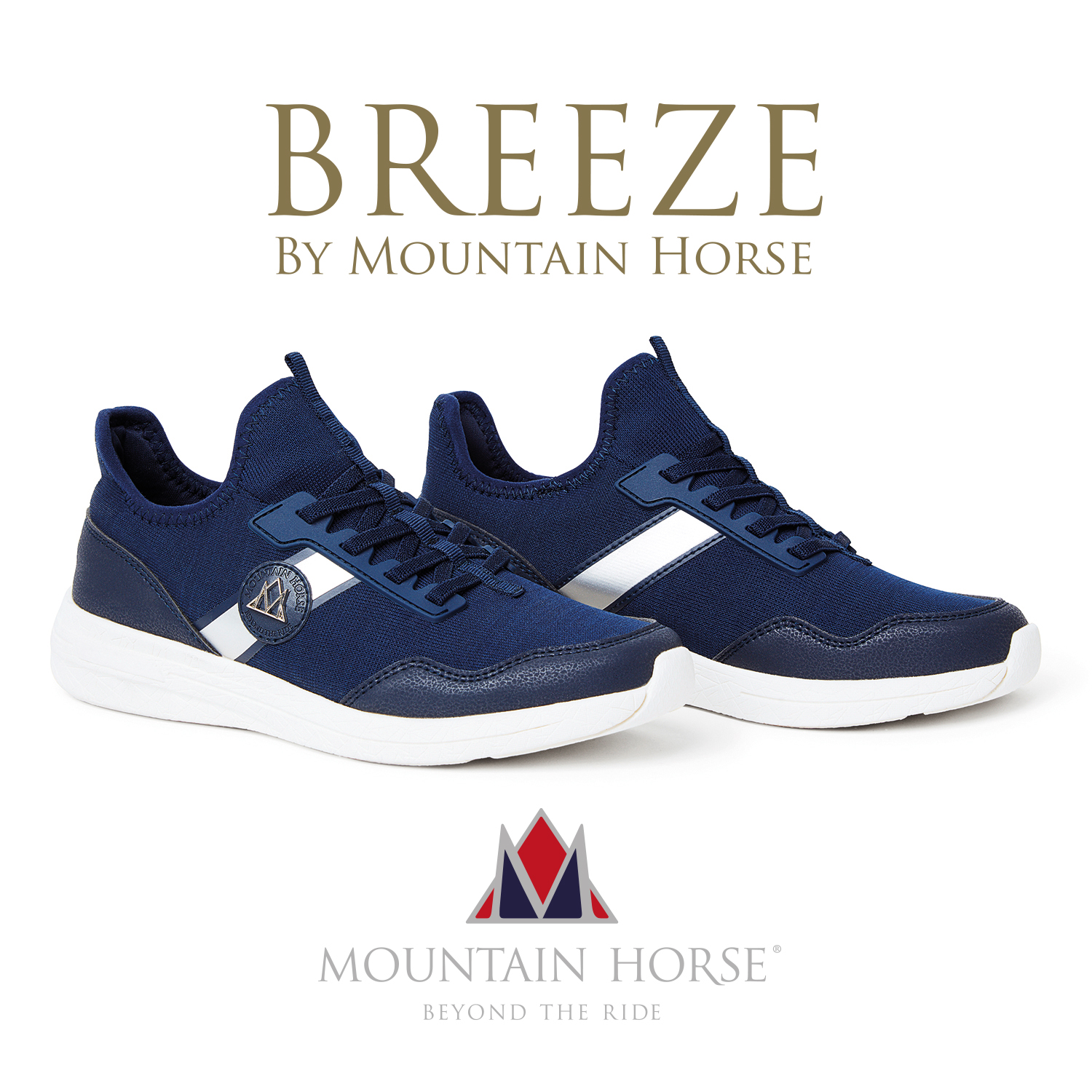 Sport and leisure combine with the Mountain Horse Breeze Sneaker
