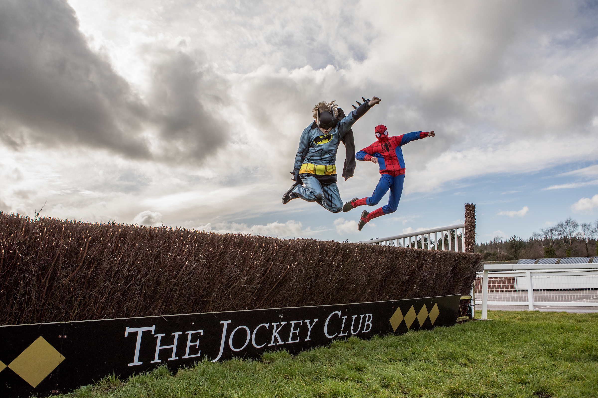 Super heroes plus horses equal the best free day out for children this Easter